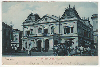 SINGAPORE PC Postcard GENERAL POST OFFICE Southeast Asia TORONTO CANADA Ontario