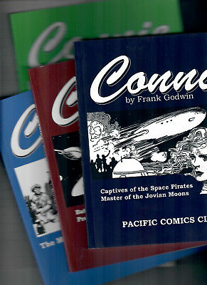 CONNIE by F.Godwin ,4 DIGEST books of dailies 1937,38,39