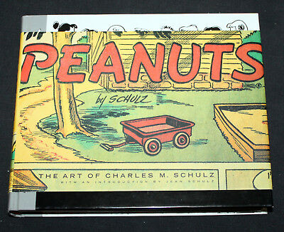 JERRY WEIST ESTATE: PEANUTS: THE ART OF CHARLES M. SCHULZ (Pantheon 2001) FN!