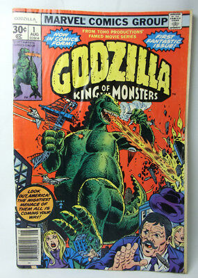 1977 Godzilla King Of Monsters No 1 Aug 30¢   Complete