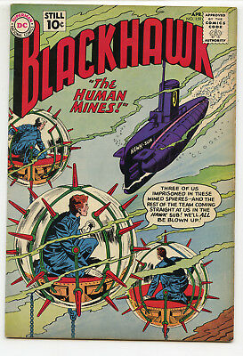 JERRY WEIST ESTATE: BLACKHAWK #159 (DC 1961) VF condition! NO RES