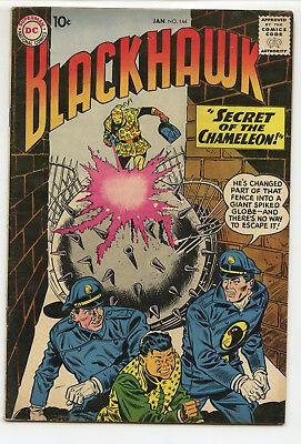 JERRY WEIST ESTATE: BLACKHAWK #144 (DC 1960) FN condition NO RES