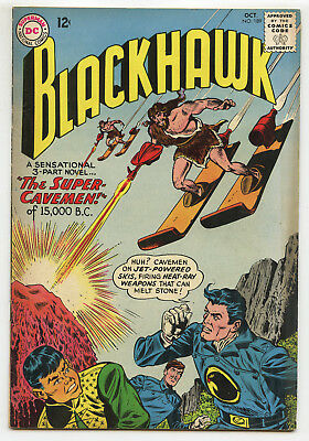 JERRY WEIST ESTATE: BLACKHAWK #189 (DC 1963) FN condition NO RES