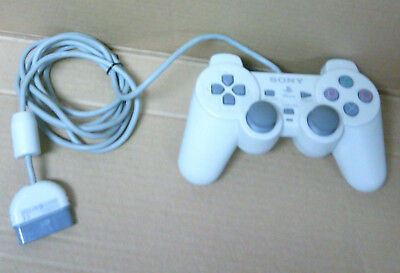 Original PlayStation PS1 Analog Controller White OEM Genuine