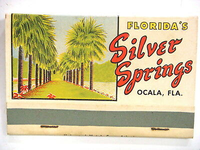 Florida's SILVER SPRINGS, Ocala,Fla. A Skin Game (card playing, 2 are cheating)