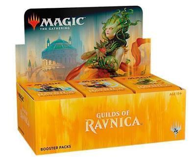 Magic MTG Guilds of Ravnica Factory Sealed Booster Box