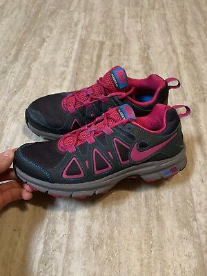 17d50a89818 WOMENS NIKE AIR Alvord 10 Trail Running Shoes Sz 9 Gray Blk Pink ...
