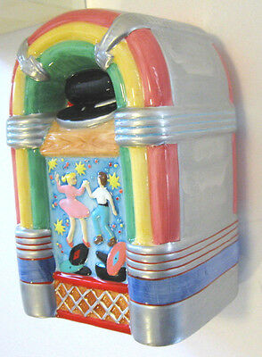 JUKEBOX BANK Ceramic 1015 Classic 40's Wurlitzer Russ AT THE DRIVE-IN Collection