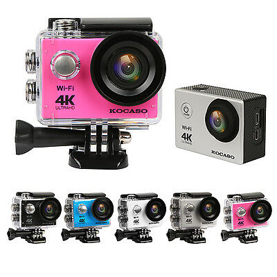 New Ultra HD 4K WIFI Sports Action Camera Outdoor Waterproof DV Camcorder US