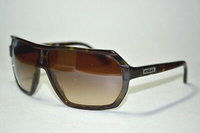 cb22d692c Scratched Versace 4197 1106-13 Brown tortoise Gradient Aviator Sunglasses