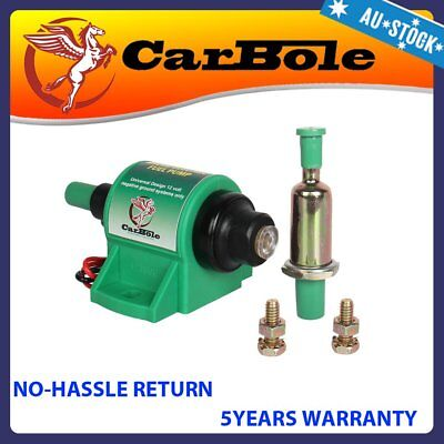 Universal 12 volt Electronic Fuel Pump For Diesel Engines Honda Ford Toyota AU