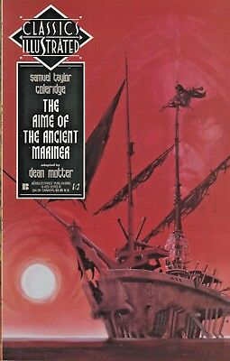 Classics Illustrated #24 The Rime Of The Ancient Mariner  First Pub. 1991 Nice!!