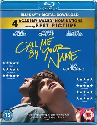 Call Me By Your Name Blu-Ray [Uk] New Bluray