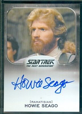 Star Trek Aliens 2014  Howie Seago as Riva  Autograph  Card