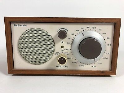 Tivoli Audio Henry Kloss AM/FM Model One Tabletop Shelf Radio