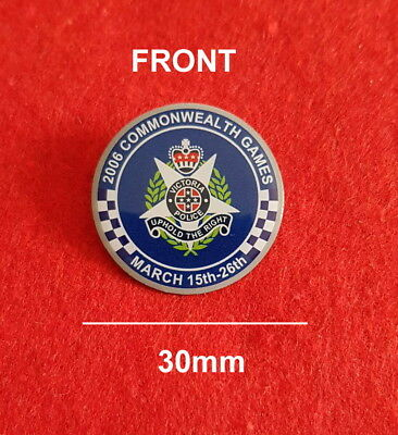 Victoria Police 2006 Commonwealth Games Pin (social)