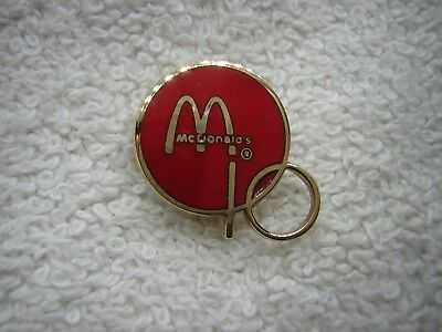 Vintage 10K Gold McDonalds Co Employee Years Of Service Award Lapel Piin
