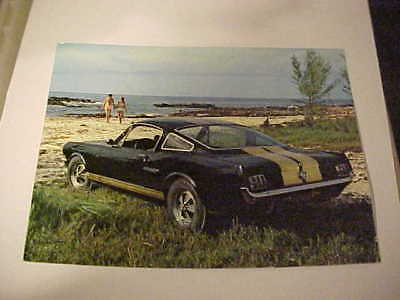 Vintage Original Postcards---Hertz Sports Car Club, Gt-350H