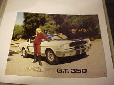 Shelby American,, Gt-350 Fold Out Brochure