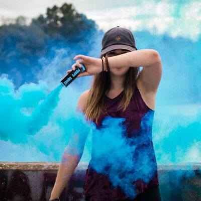 Colorful Pull Ring Effect Smoke Tube for Outdoor Background Stage Photography