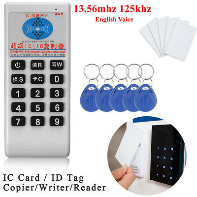RFID Duplicator ID IC Card Cloner For EM4305 5200 8800 T5577 UID MIFARE Cards