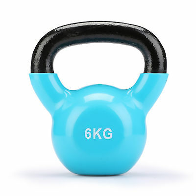 6kg Cast Iron Kettlebells Weight Strength Training Kettlebell Exercise Gym