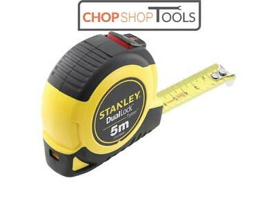 Stanley Tools STA036803 DualLock™ Tylon™ Pocket Tape 5m (Width 19mm) (Metric onl