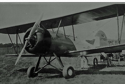 """Standard Oil"" BIPLANE #NC 12323 AT AIR RACES 1931 8"" X 10"" B&W PHOTOGRAPH"