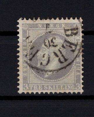 P103150 / Norvege / Norway / Y&t # 3 Oblitere / Used 100 €