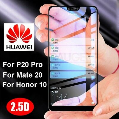 Full Tempered Glass Film Screen Protector for Huawei Mate 20 10 P20 Lite Pro