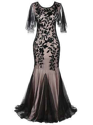 Women's O Neck 1920s Style Gatsby Sequin Flapper Dress Cocktail Party Dresses