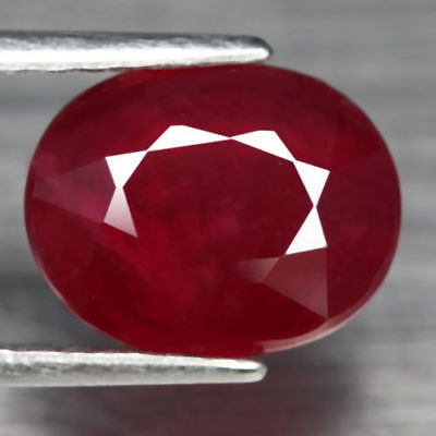 1,99€!! SUPERBE RUBIS ROUGE NATUREL DE MADAGASCAR 3,54 carats