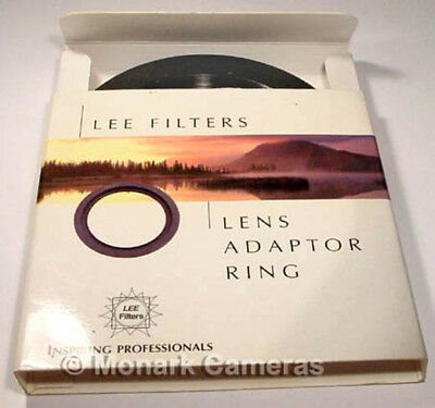 Lee Filters 58mm Lens Adapter Ring. Several Other Sizes & Types Listed