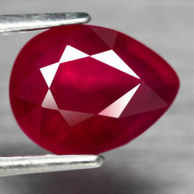 1,99€!! SUPERBE RUBIS ROUGE NATUREL DE MADAGASCAR 2,30 carats