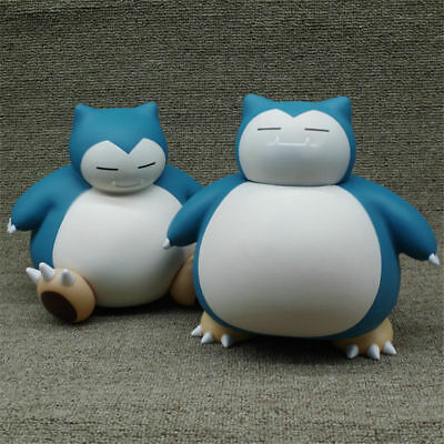 Cute Piggy Bank Pocket Monster Snorlax Figure Ornaments Pokemon Money Box Toy