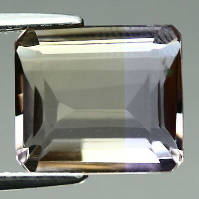 5.82 Ct Vvs! Natural! Purple & Yellow Bolivia Ametrine Octagon