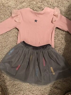 Girls Outfit From Zara Age 18-24 Months