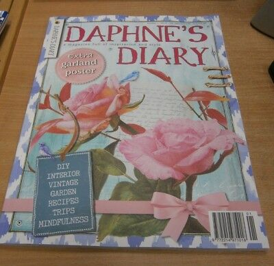 Daphne's Diary magazine #1 2019 DIY Interior Recipes Vintage Trips Mindfulness