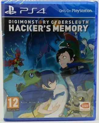 Digimon Story Cyber Sleuth Hacker's Memory PS4 Brand New Sealed PlayStation Game