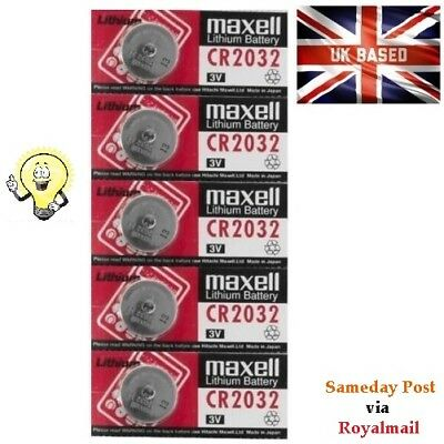 5x 10X 20X 40X CR2032 3V Lithium Button/Coin Cells batteries- Free Post UK STOCK