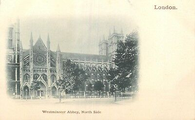 Cp Nuage London Westminster Abbey North Side