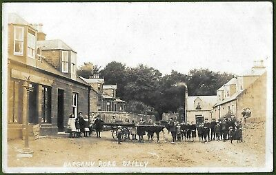 Bargany Road Dailly, Ayrshire. Very Scarce Real Photo Posted From Dailly 1907.