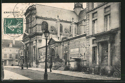 CPA Chaumont, Lycee 1912