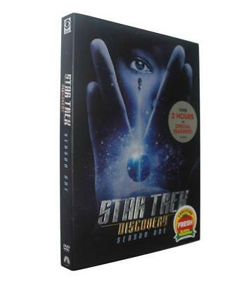 Star Trek Discovery Season One(DVD, 2018, 4-Disc Set)brand new Free shipping
