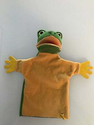Vintage Steiff - Frog , Froggy Hand Puppet