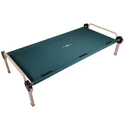 Disc-O-Bed Steel Framed Trundle Cot for XL or 2XL Disc-O-Bed Bunk Systems, Green