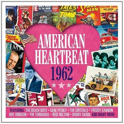 American Heartbeat 1962 NEW 2CD GREATEST HITS / BEST OF / 60's / SIXTIES