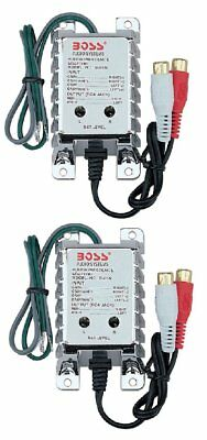 2) BOSS B65N High Level to Low Level Converter + RCA Input Sensitivity Control