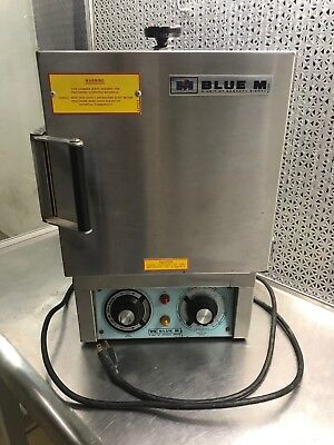 """Blue M OV-8A Oven, Stainless Steel Chamber Size 8""""X7""""X7"""", 120 Volts, Max 500F"""