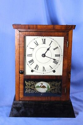 Seth Thomas Antique Mantle Clock 8 Day Cottage Original Looks & Runs Great!